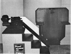 The original Inclinator stair lift