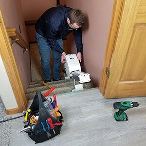 DIY stair lifts