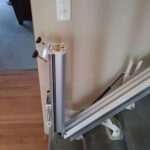 Harmar Pinnacle SL300 stair lift optional automatic folding rail