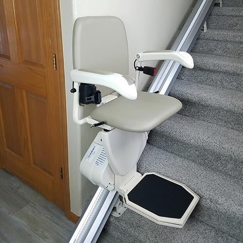 Harmar Pinnacle SL600 stair lift unfolded